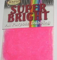 Даббинг Super Bright All Purpose Dubbing fl. pink Wapsi