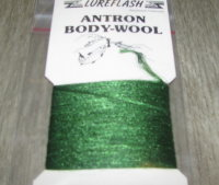 волокно антрон antron body-wool dk. green Lure Flesh