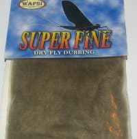 Даббинг Superfine dry fly dub  brown olive Wapsi / Metz