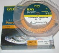 "раннинг  Power Flex Max Spey. 0.24 """" Flt 100 ft  orange RIO"