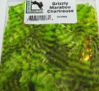 Grizzly Marabou Chartreuse Hareline