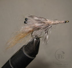 Муха Streamer Shrimp SSH 10  Natural Tan/ Dun № 6