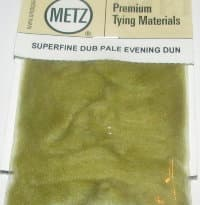 Даббинг Superfine dry fly dub pale evening dun Wapsi / Metz