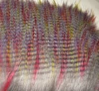 craft fur grizzly rainbow