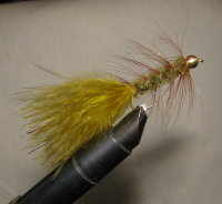 Муха Woolly Bugger  olive №  6