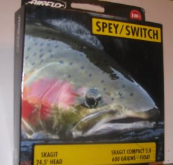 Нахлыстовый шнур Airflo Spey Switch Skagit Compact  2.0 Floating 600 gr