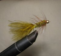 Муха Woolly Bugger  olive №  12