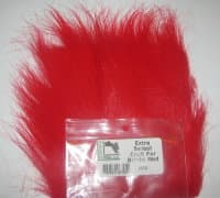 craft fur bright red extra select Hareline