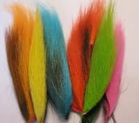 bucktail assort 6 FLOUR. colors Wapsi