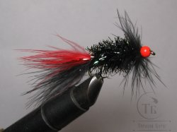 Муха Streamer Little Fort Leech Or. Br. Head ( 1 ) Str. №6