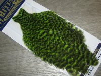 Скальп курицы American hen cape гризли флюр шартрез  / grizzly fl. green chart. Whiting