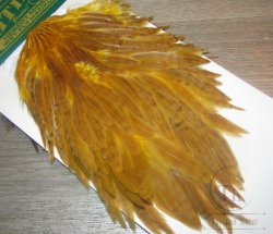 Курица седло Hebert wet hen saddle yellow / sunburst  Whiting
