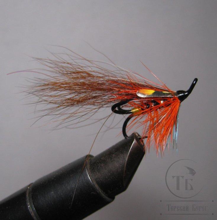Лососёвая муха Тройник Partridge Black № 8 Bear Cascade