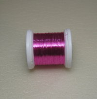 Проволока color wire Hends 0.09 pink (21.6 метра)