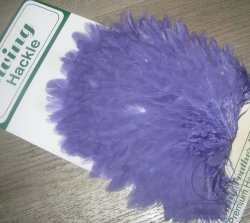 Курица седло Ewing hen saddle purple