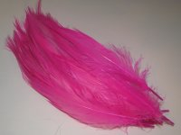 heron natural white (dyed pink ) (20 fs фактура шляппена) MD