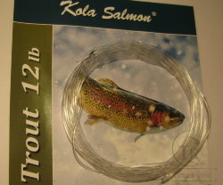 10 ft (3 m) polyleader salmon steelhead  12 lb (5.5 kg) Floating Kola Salmon