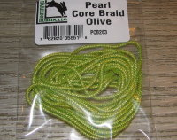 Тесьма для тела Pearl Core Braid Olive Hareline