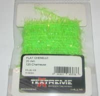 flat chenille 20 fl chartreuse Textreme