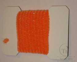 wooly bugger chenille small fl orange