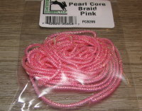 Тесьма для тела Pearl Core Braid Pink Hareline