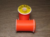 Искусственный шелк Veniard Floss Glo-Brite 25 yds Fluorescent Fire Orange  №5