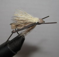 Муха Кузнечик ( 12 ) Hopper Cream Brown кр. Nymph № 6