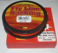 backing  BRAIDED DACRON USA 0.48 mm 91 m 10 kg Orange
