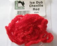 Синель Ice Dub Red Hareline/ Orvis