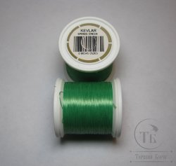 монтажная нить GUDEBROD 3/0 kevlar thread 50 yds spring green